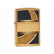 Encendedor Zippo 28673 Gold And Black