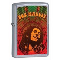 Encendedor Zippo 24991 Bob Marley Cromo Street