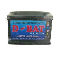 Bateria Autos 12x75 D-bat Calcio-plata Y Libre Mantenimiento