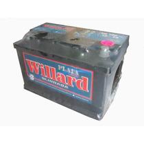 Bateria Para Autos Willard Plata 12x75 Ub730-ub740 ¡oferta!