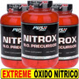 Pre Entreno Nitrox 720 Tabs Oxido Nitrico Citrulina Arginina