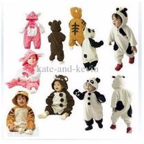 Pijama Animales, Bebes-niños, Oso, Panda, Pikachu, A Pedido