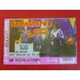 Soda Stereo El Ultimo Concierto 1997 Entrada Para Coleccion