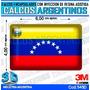 Calcomanias 3d Con Relieve, Accesorio Autos Band. Venezuela