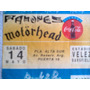 Entrada Ramones- Motorhead- Estadio Velez 14 Mayo 94