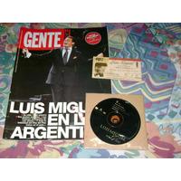 Luis Miguel Entrada Revista Y Cd Single Lote Coleccionista