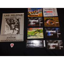 Lote De 8 Entradas, Volante Año 1994 Y Pua De Las Pelotas