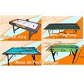 Alquiler Mesa Pool Tejo Ping Pong Metegol Puff