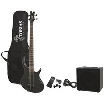 Bajo Eléctrico Epiphone By Gibson Toby Ltd Pack Ampli Funda