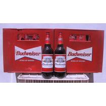 Cajones De Envases De Cerveza Budweiser