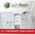 Kit Dispenser Jabon Liquido + Higienico + Toallas Papel