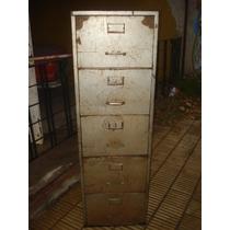 Fichero De Chapa 5 Cajones-fichero Metalico Usado