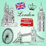 Vinilos Londres. Arma El Tuyo!! (caba)