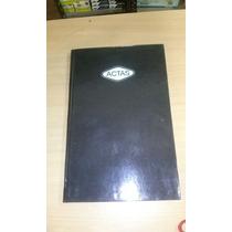 Libro De Actas X 200 Folios, Tamaño Oficio, Tapa Negra.