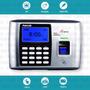 Reloj Control Horario - Huella Digital + Proximidad Autonomo