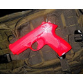 Arma Pistola Entrenamiento Profesional Beretta Roja