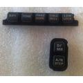 Yaesu Ft2500 - Teclado De Goma - Romero Comunicaciones