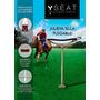 Silla Plegable Para Rugby Y Polo - 100% Aluminio Y Cuero -