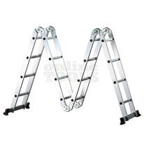 Escalera De Aluminio Articulada Plegable 4.70m