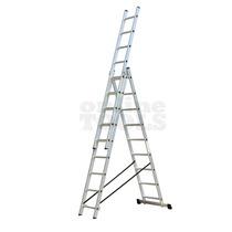 Escalera De Aluminio Extensible Tijera 3 Tramos 5,92metros