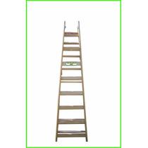 Escalera Pintor Reforzada 8 Escalones Combinada 2.30 Mtrs