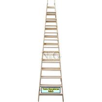 Escalera Pintor Reforzada 12 Escalones Combinada 3.40 Mtrs
