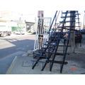 Escalera Caracol O Recta De 3 X 0.60 Metal Desplegado
