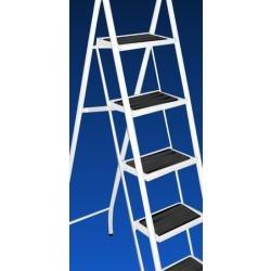 Escalera metalica plegable kevin 6 escalones ca o 1 for Escalera metalica plegable precio