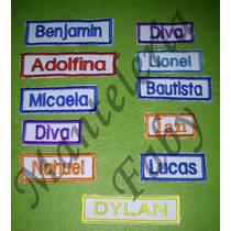 Etiquetas Con Nombre Bordados Para Jardin, Colegios