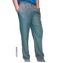Pantalon Sarga Colegial Gris/azul T.52/54 Casa Suery