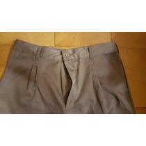 Pantalones Nuevos Y Usados, Microfibra Y Gabardina T Varios