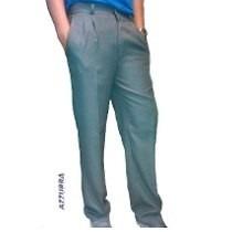 Pantalon Sarga Colegial T.4 Gris/azul Casa Suery