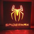 Luz De Noche Led Spiderman Hombre Araña Velador - Laito