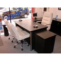 Conjunto De Escritorio Gerencial Oficina-despacho-privado