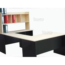 Escritorio - Mesa Pc - Escritorio Oficina - Estantes - Cubos