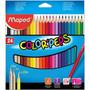 Lapiz Maped Colorpeps X 24 Unidades