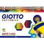 Caja De 36 Lápices Giotto Supermina - Mina Gruesa 3,8 Italia