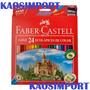 Lapices Faber Castell Colores Largos X 24 Unidades