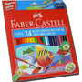 Lapices Faber Castell Acuarelables Largos X24 (6916)