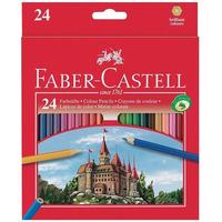 Lapices De Colores Faber Castell X 24 Largos + Sacapuntas