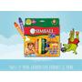 Crayones Simball Twist It Kids X 8 Un Para Jugar En El Baño