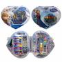 Set De Arte Frozen Marcadores,crayones,lapiz,regla.etc