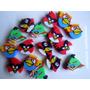 10 Mini Gomas De Borrar De Angry Birds 1 Cm
