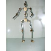Stop Motion Esqueleto Humanoide Articulado