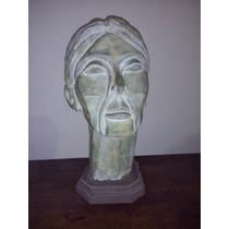 Escultura Cabeza De Cemento