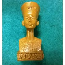 Escultura En Resina De Nefertitis Reina Egipcia
