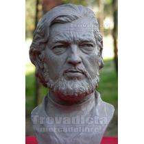 Julio Cortazar - Busto * Escultura Hiperrealista !!