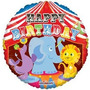 Globo De Circo De 18 Happy Birthday - Fiestas De Payasos