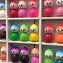 24 Mini Esmaltes Para Spa Nenas Deco Nail Art En Flores