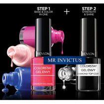 Revlon Kit Colorstay 1 Esmalte Gel Sin Cabina + 1 Top Coat
